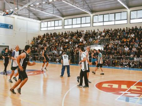 משחק הכדורסל מורים תלמידים
