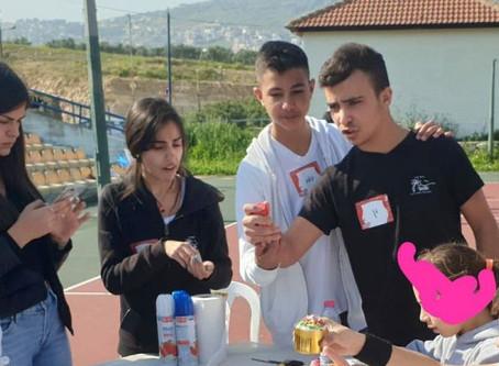 פעילות עם כל הלב בכפר הילדים כרמיאל