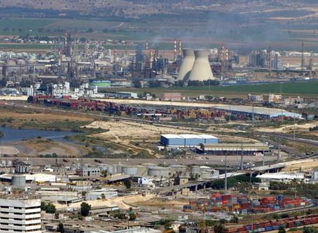 טיול מגמת גיאוגרפיה למפרץ חיפה