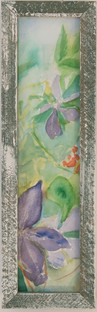 Lilac Clematis Diptych