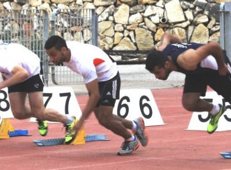 אלופים באתלטיקה קלה