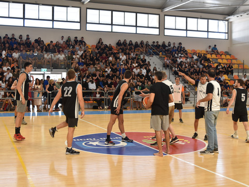 """משחק מורים תלמידים כדורסל- תשפ""""א"""