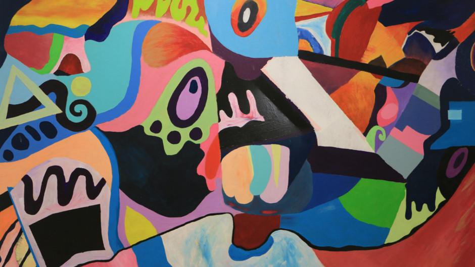 """תערוכת מגמת אמנות- תשע""""ז (2017)"""