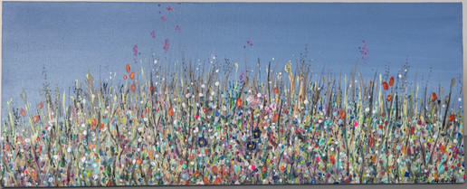 Flower Study on Canvas