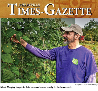 Bottle Hollow Farm is featured in the Bedford Acres magazine from the Shelbyville Times-Gazette.