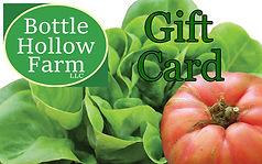 Bottle Hollow Farm e-gift card