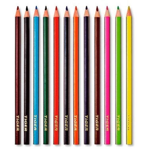 10 färgpennor