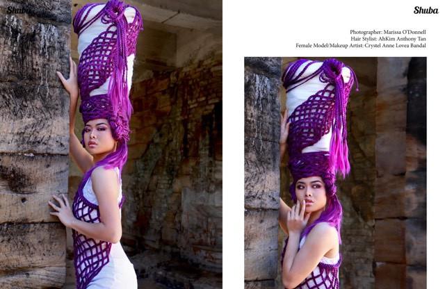 Crystel in Shuba Magazine..Again!