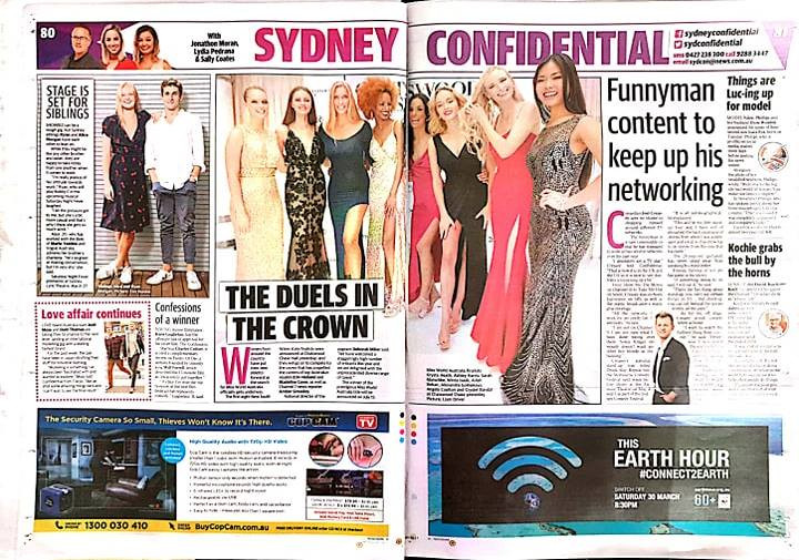Crystel at Miss World Australia Pre Liminary Final