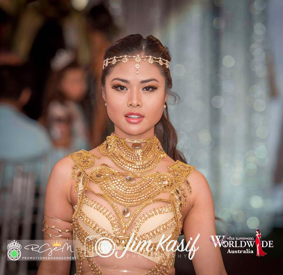 Crystel won 3rd Runner Up in Miss Supermodel Worldwide Australia