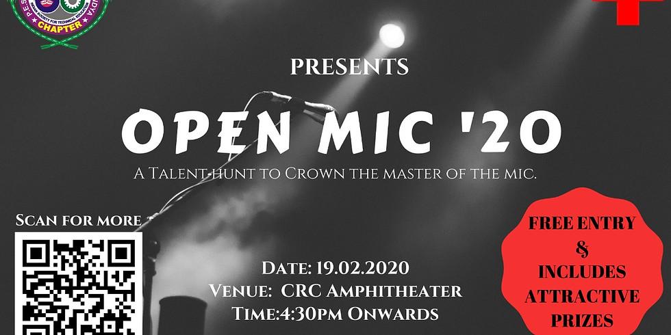 Open Mic 2020