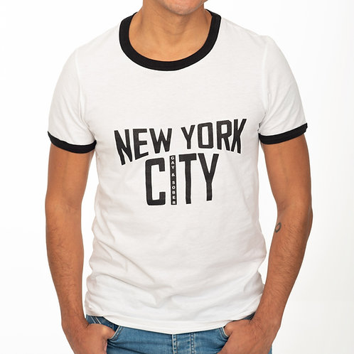 New York City Gay & Sober Tee