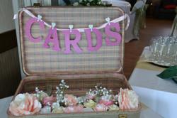 Wedding Cards Suitcase