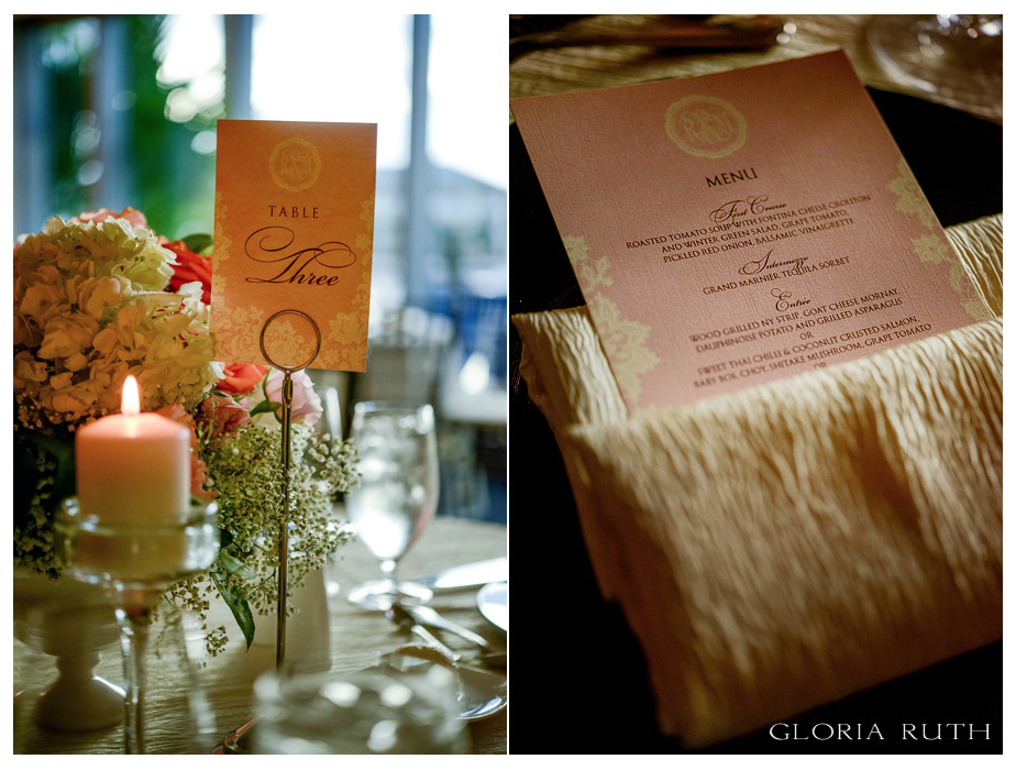 Table Numbers & Menu Cards