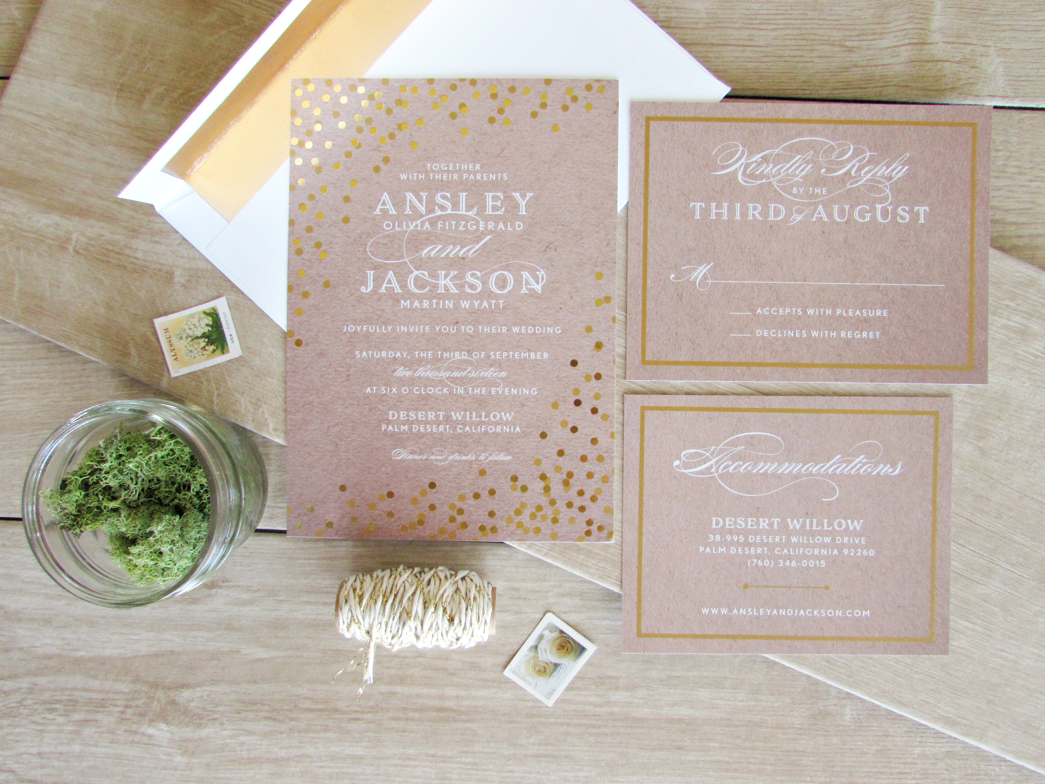 Foil Wedding Suite