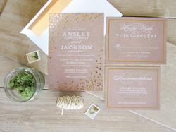 Foil Wedding Suite