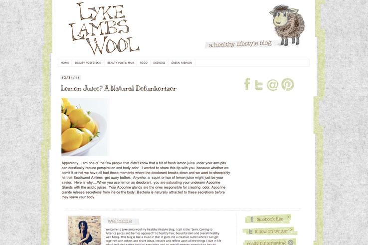 Lyke Lambs Wool