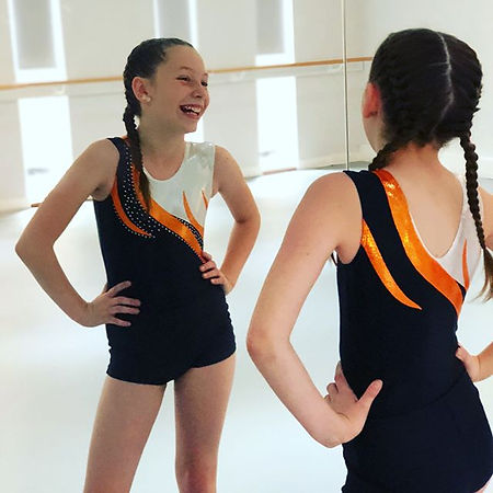 We are loving our new ACRO dance uniform