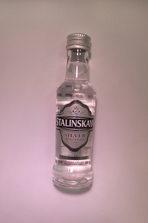 Stalinskaya Silver Vodka 50 mL