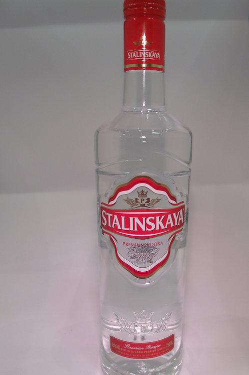 Stalinskaya Red Vodka 750 mL