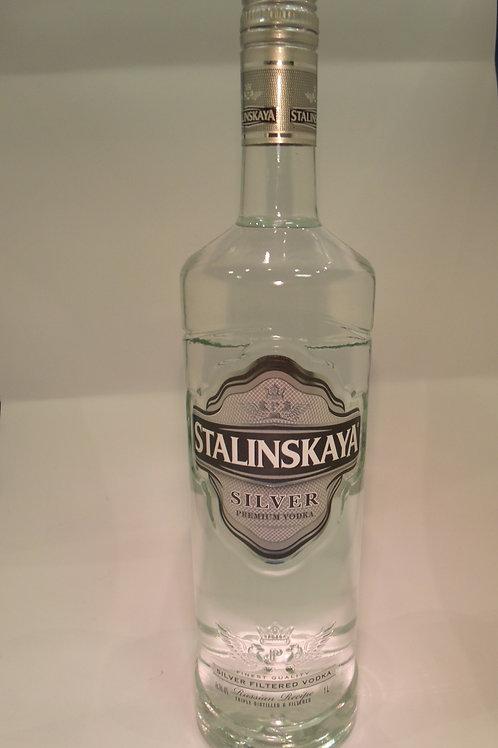 Stalinskaya Silver Vodka 1L