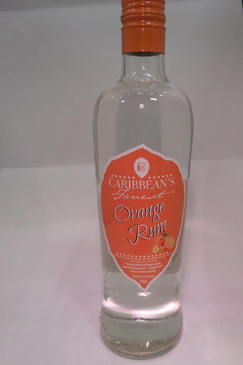 Caribbean's Finest Rum Orange 750 mL