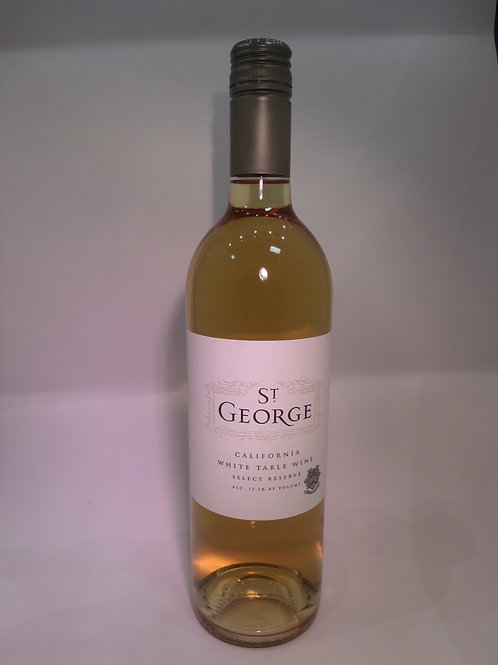 St George California White Table Wine Select Reserve