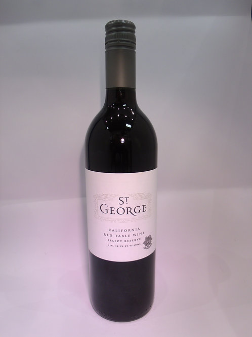 St George California Red Table Wine Select Reserve