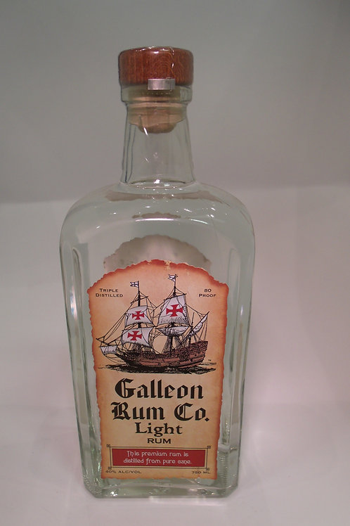 Galleon Rum Co. Light Rum 750 mL
