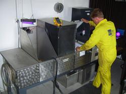 Flourescent Penetrant Inspection