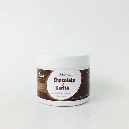 Máscara Chocolate y Karité - 170 g