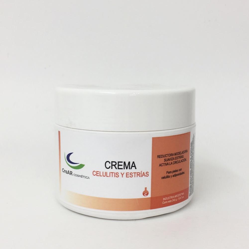 Máscara barro crema corporal lipolítica