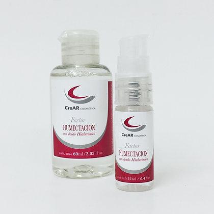 Factor Humectación c/ ac. Hialurónico (11 o 60 ml)