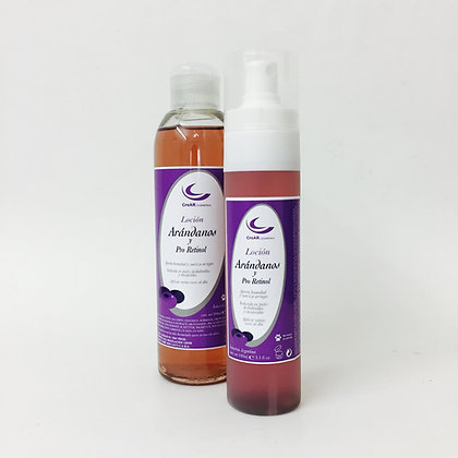 Loción Arándanos Pro Retinol - 100 o 200 ml