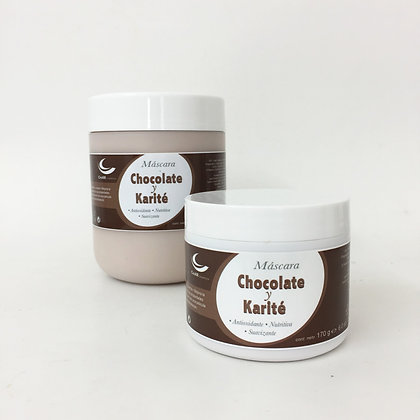 Máscara Chocolate y Karité (170 y 500 g)