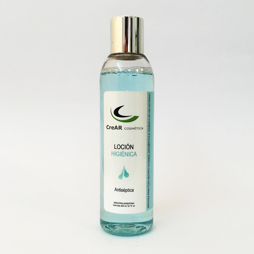 Loción higienica Crear cosmética