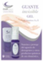 Invisible glove Guante invisible crear cosmetica protege de detergentes y productos quimicos