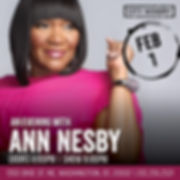 Ann Nesby Live In DC