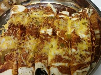 Delicious Vegetarian Enchiladas
