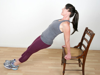 Not Your Grandma's Chair Workout