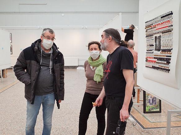 Lyon art paper 2020 équipe scénographique