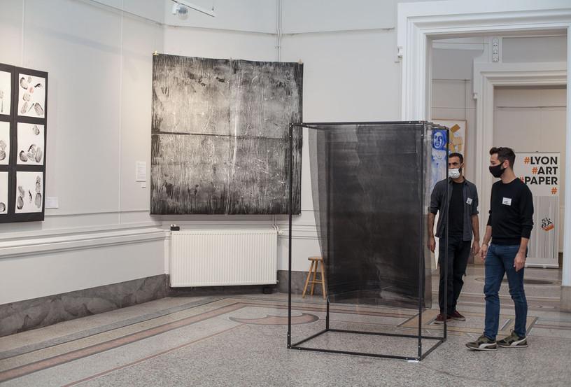 Lyon Art Paper 2020 salon de dessin contemporain Lyon scénographie artistique générale et participation