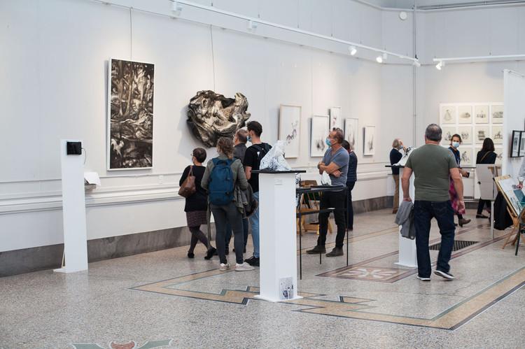 Lyon Art Paper 2020 salon de dessin contemporain Lyon scénographie artistique générale et participationLyon Art Paper 2020 salon de dessin contemporain Lyon scénographie artistique générale et participation