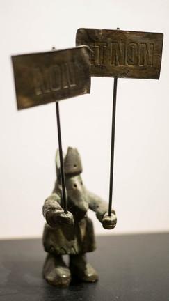 sculpture Yves Olry
