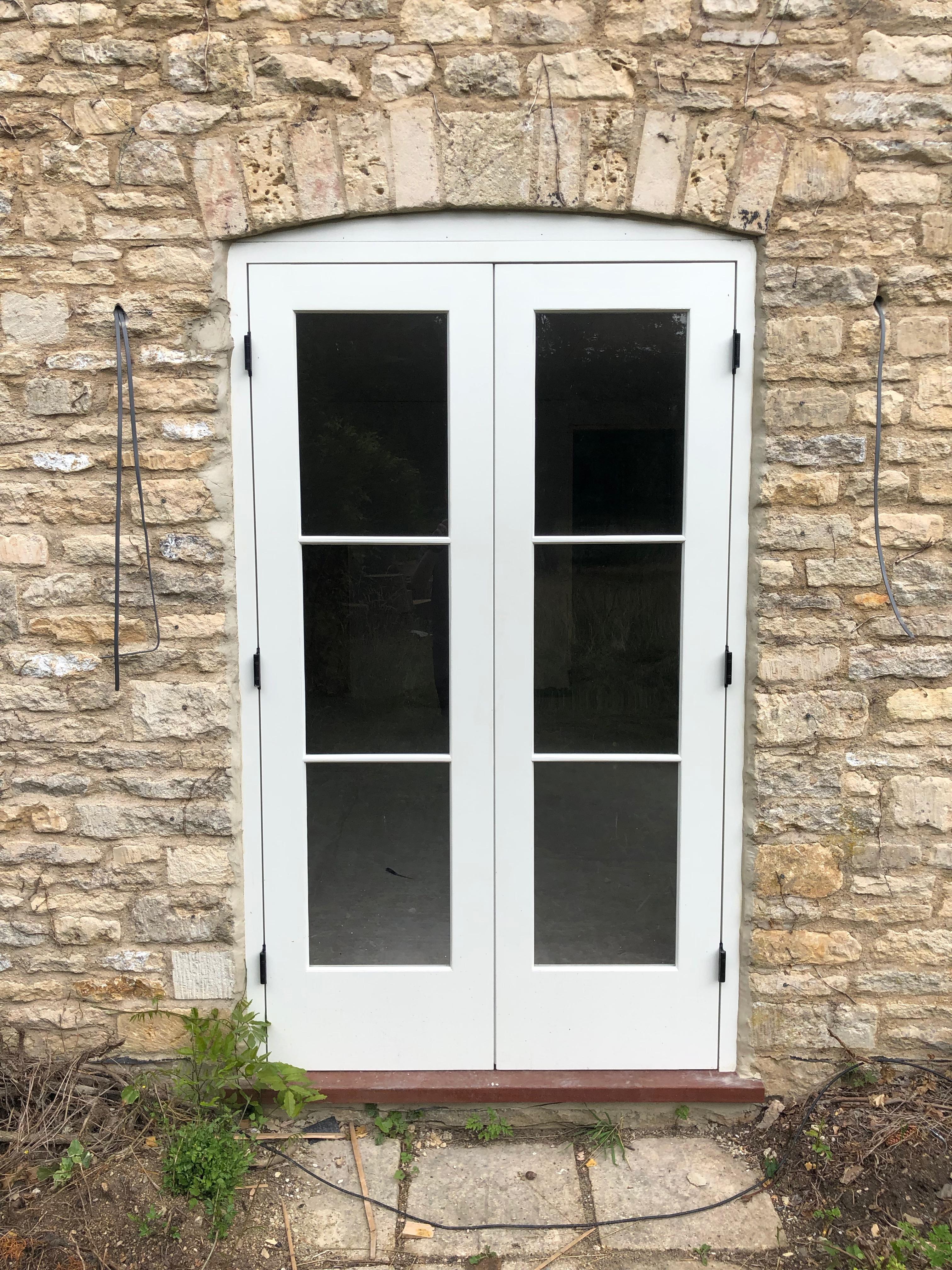 French Doors Horizontal Glazing Bars