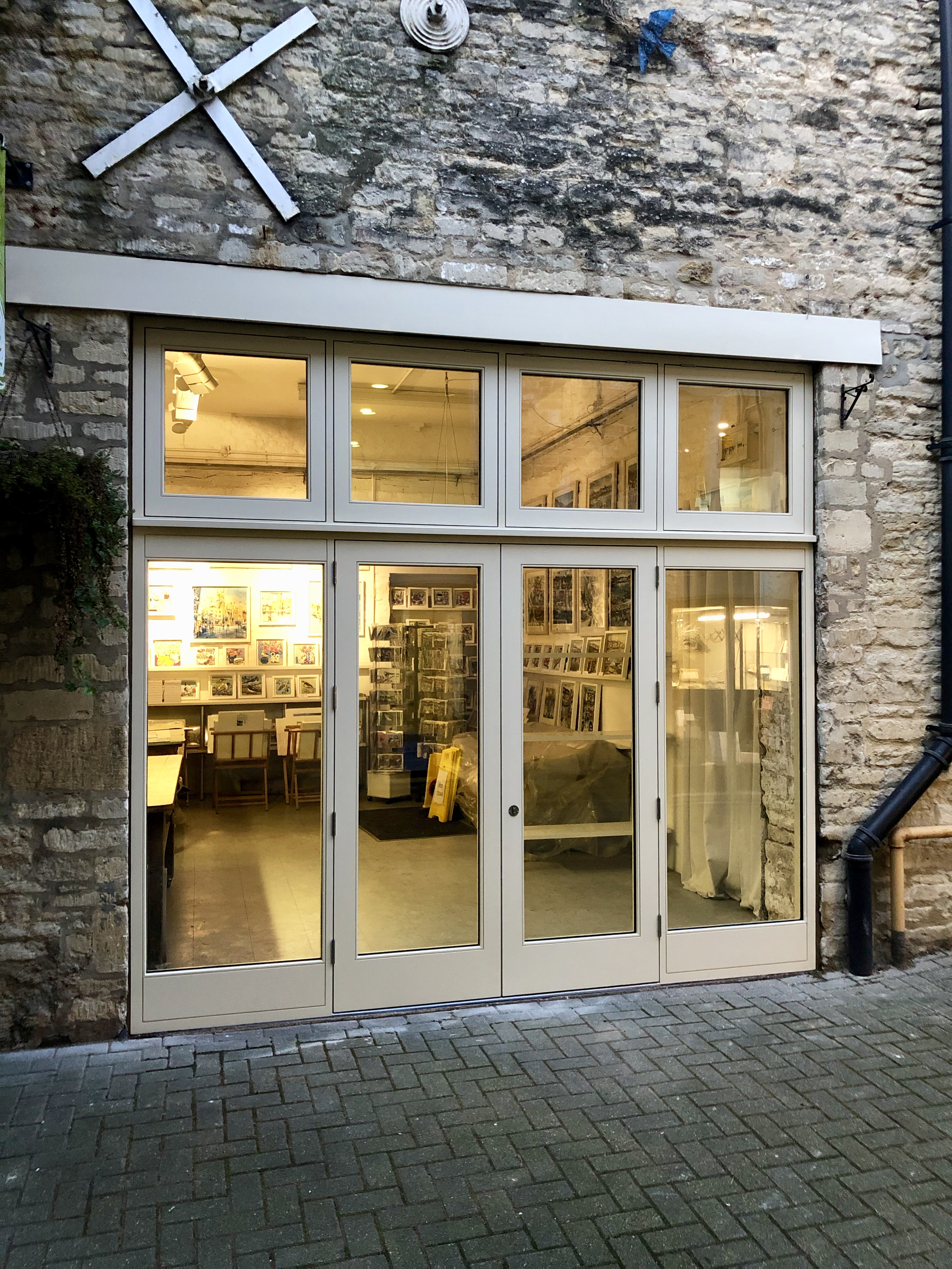 Shop Front with French Doors
