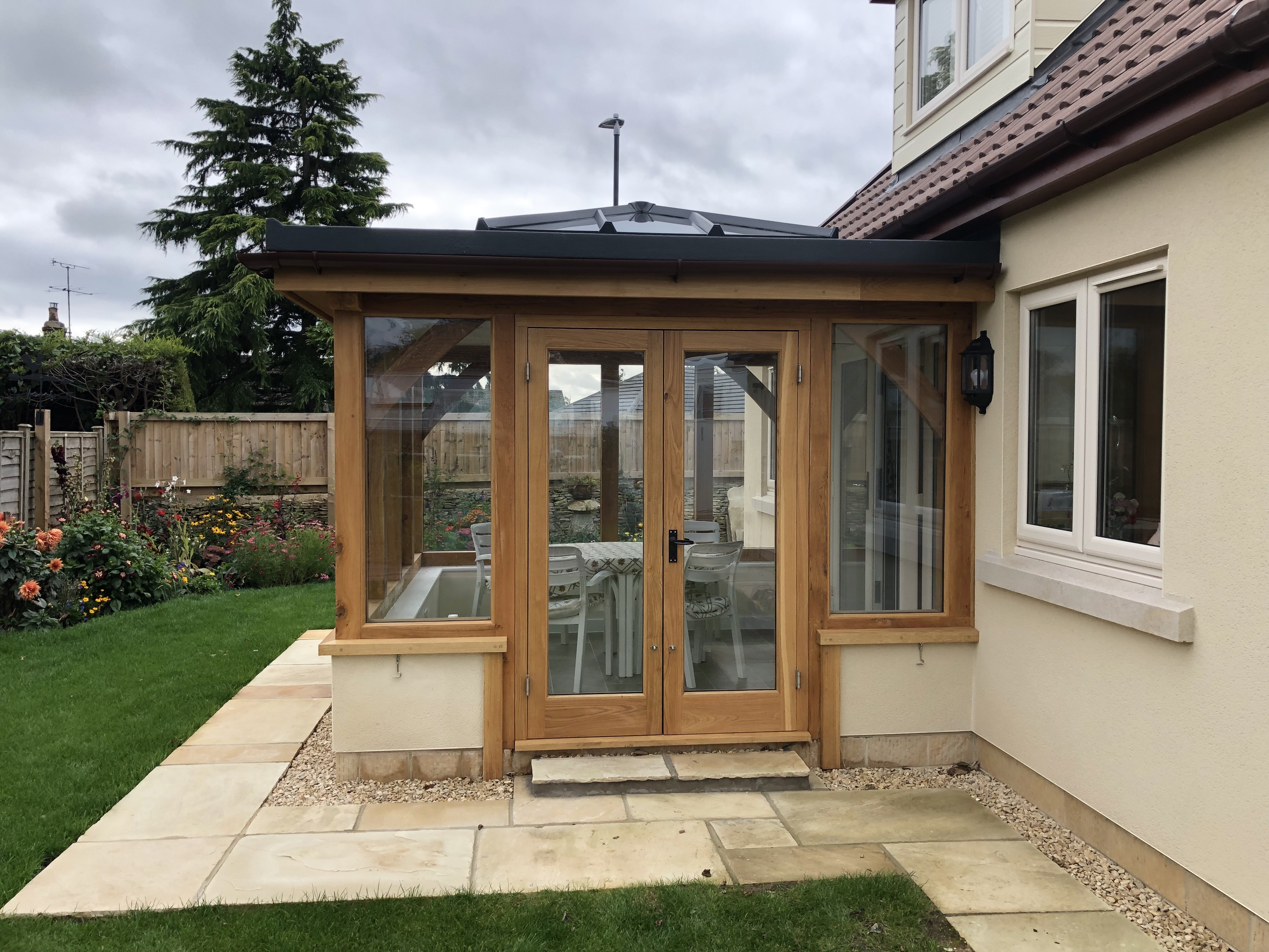 Timber Frame Oak Orangery