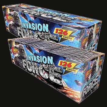 Invasion Force 126 Shot Compound Cake
