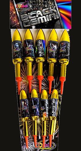 Black Gemeni 9 Pack Rockets