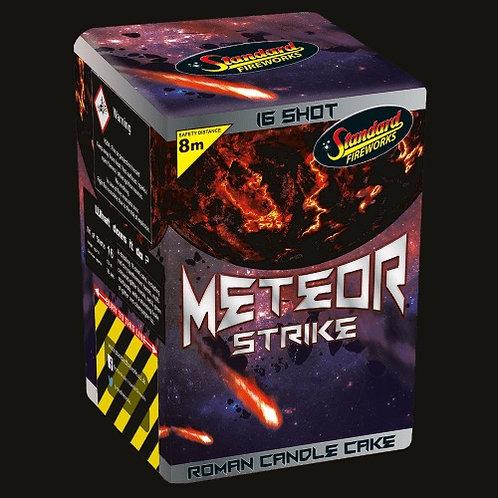 Meteor Strike 16 Shot Cake